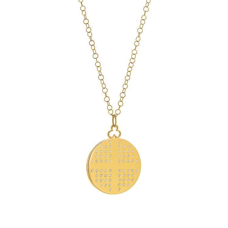 Vincents Fine Jewelry | Devon Woodhill | 34mm Modern Locket, Dee