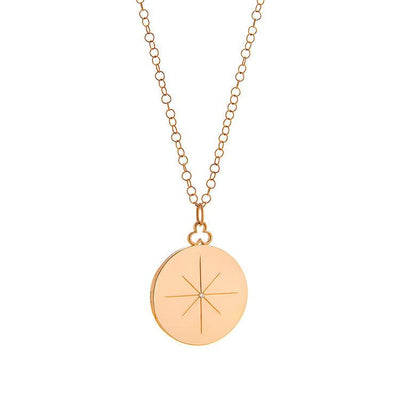 Vincents Fine Jewelry | Devon Woodhill | 34mm Modern Locket, North Star