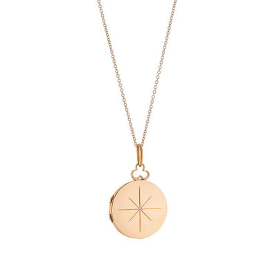 Vincents Fine Jewelry | Devon Woodhill | Sapphire North Star Locket