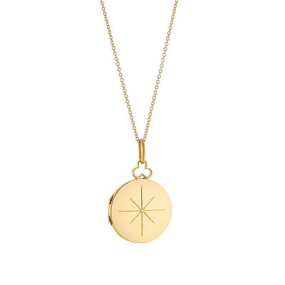 Vincents Fine Jewelry | Devon Woodhill | 18mm Modern Locket, North Star