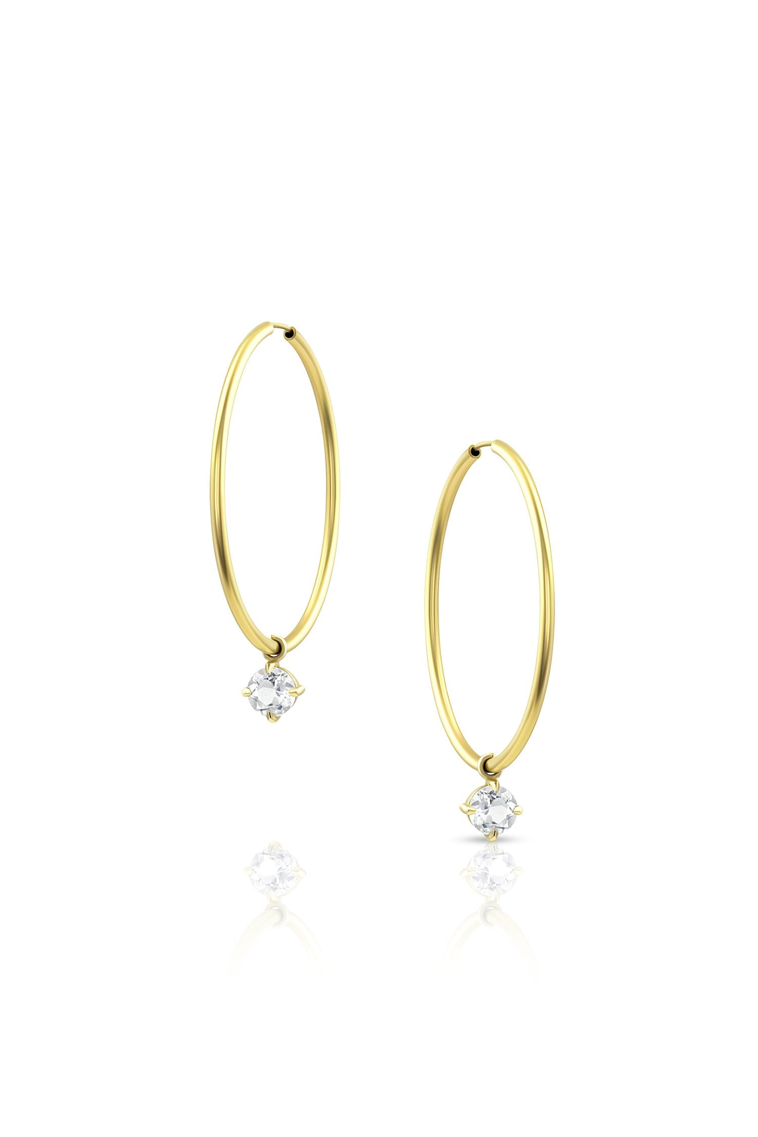 Single Drop Hoops