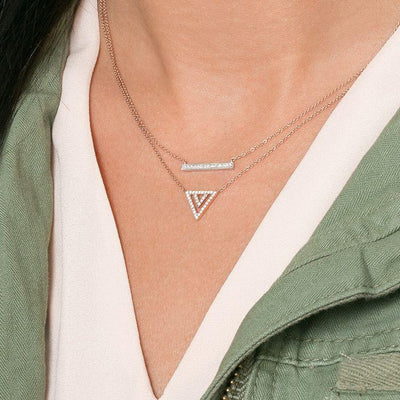 Vincents Fine Jewelry | Dana Rebecca | Sylvie Rose Medium Bar Necklace