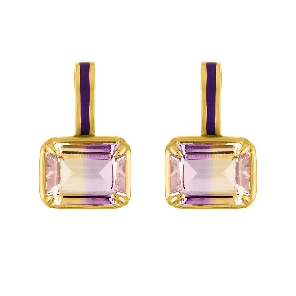 Vincents Fine Jewelry | Amy Glaswand | Mini Pop Enamel Earrings