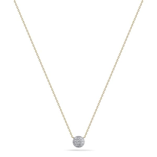 Dana Rebecca | Lauren Joy Mini Disc Necklace