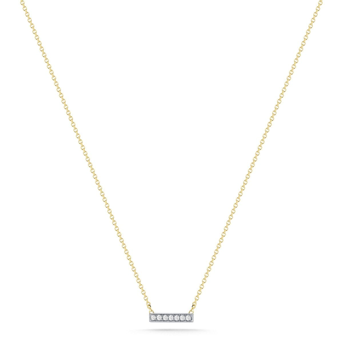 Vincents Fine Jewelry | Dana Rebecca | Sylvie Rose Mini Bar Necklace