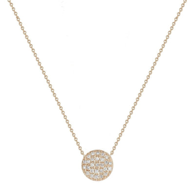 Dana Rebecca | Lauren Joy Medium Disc Necklace