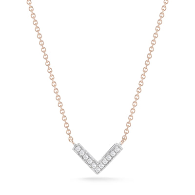 Vincents Fine Jewelry | Dana Rebecca | Sylvie Rose V Necklace