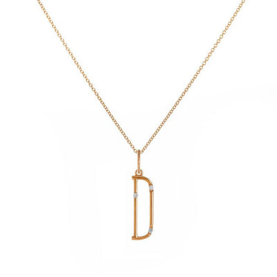 Devon Woodhill | Character Letter Necklace