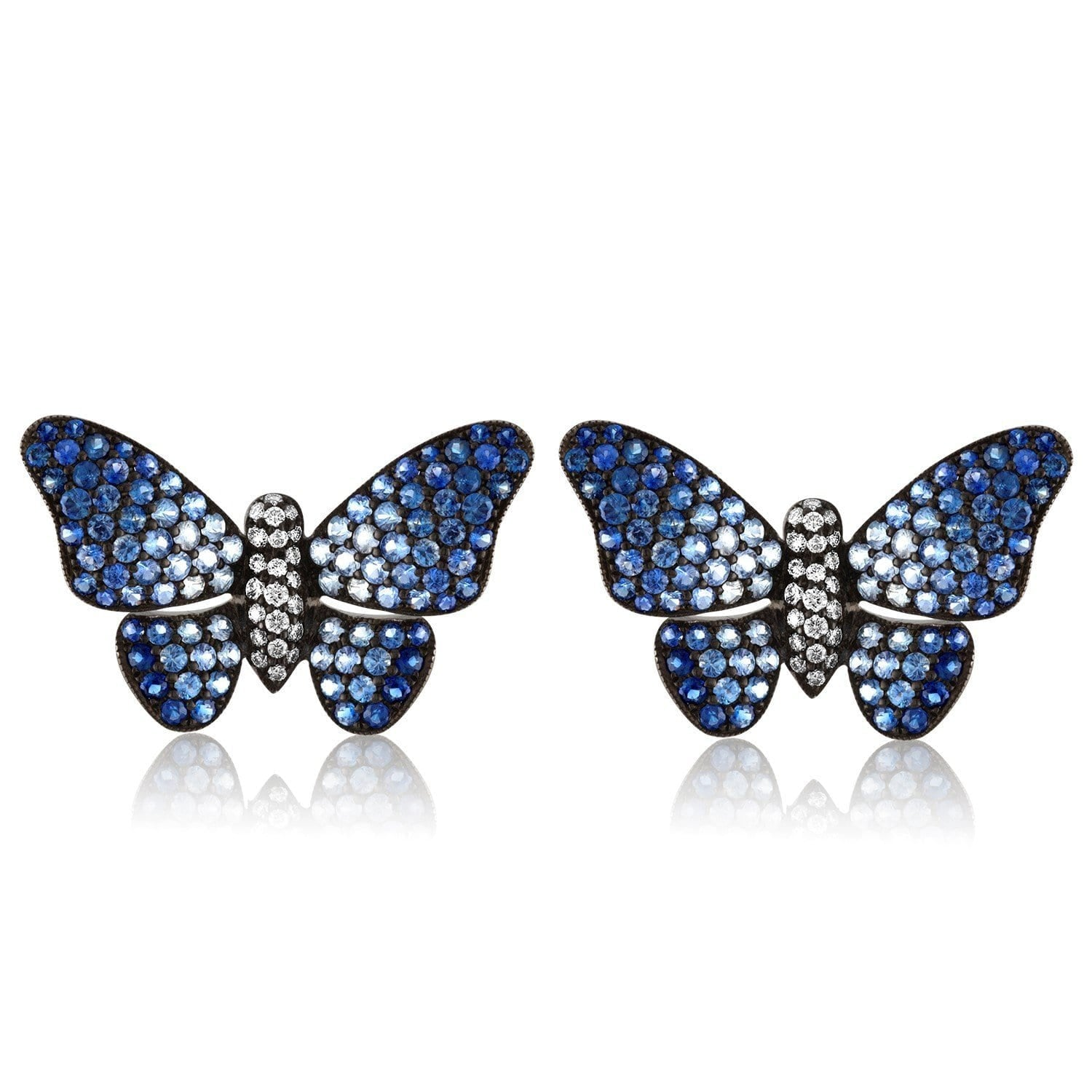 Jane Kaye | Ombre Butterfly Earrings