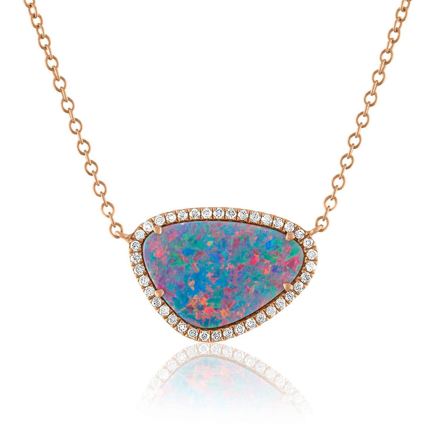 Jane Kaye | Organic Opal Necklace