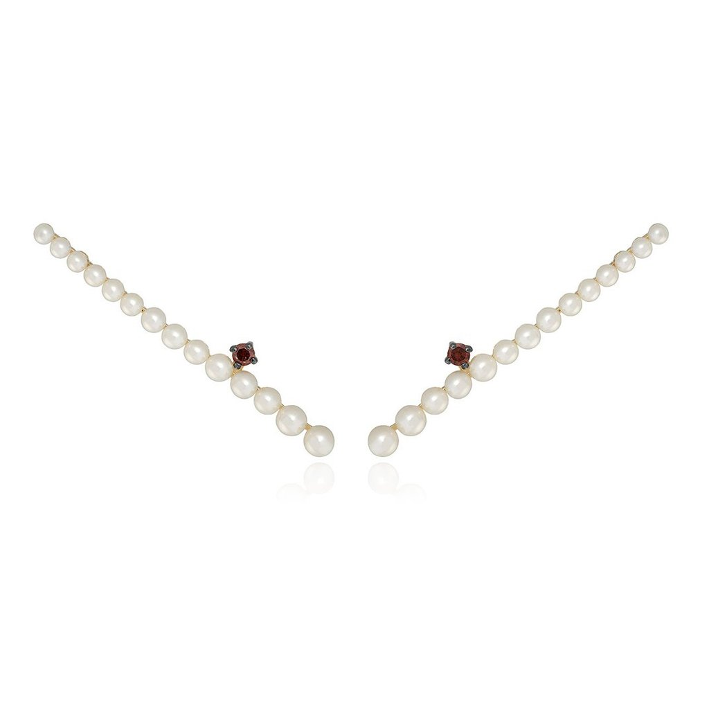 Vincents Fine Jewelry | Jane Kaye | Pearl Ear Climbers