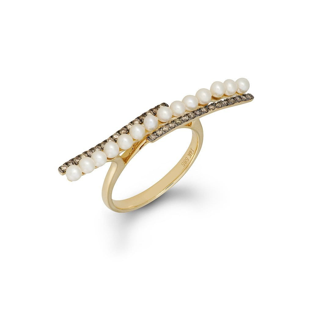 Vincents Fine Jewelry | Jane Kaye | Pearl Bar Ring