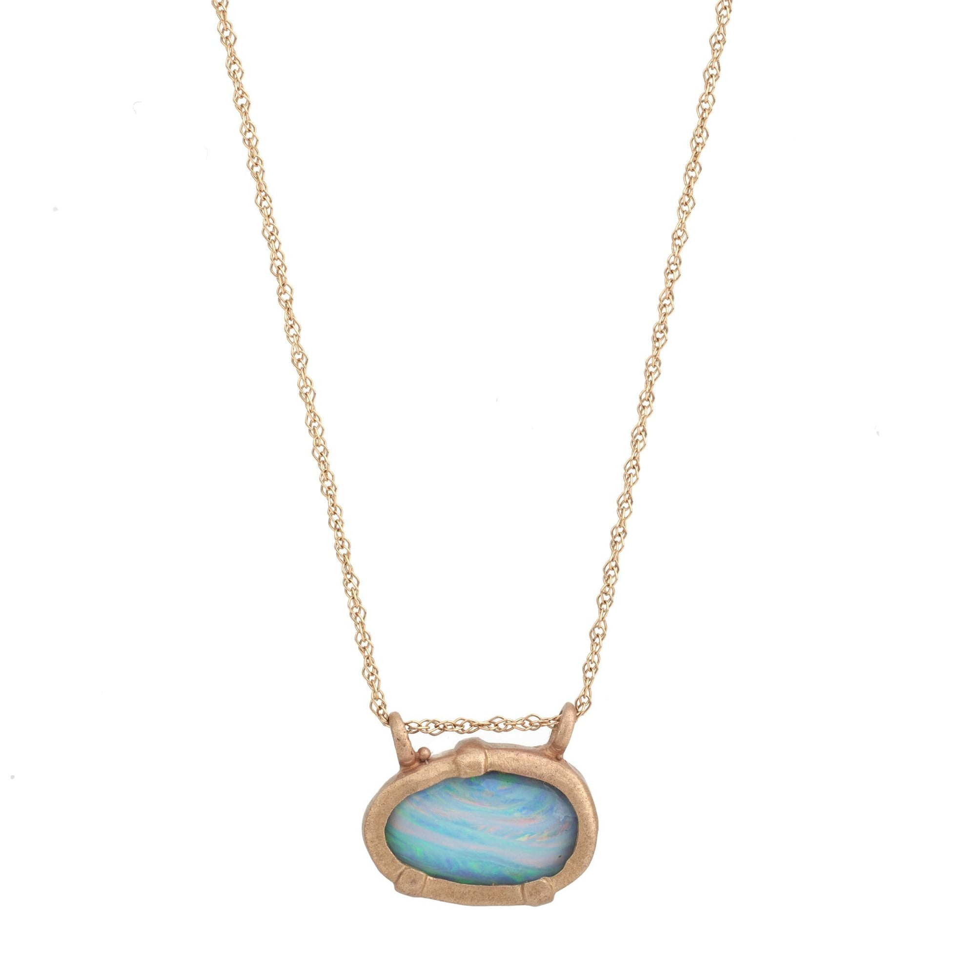 East West Australian Opal pendant