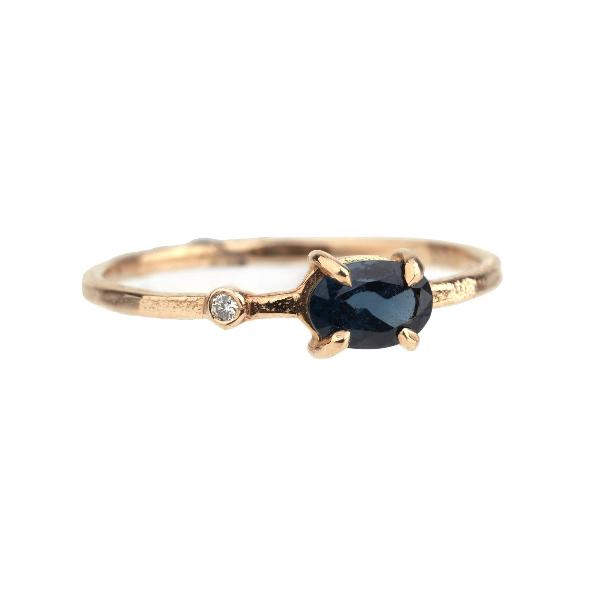 Wink Ring: Spinel Blue