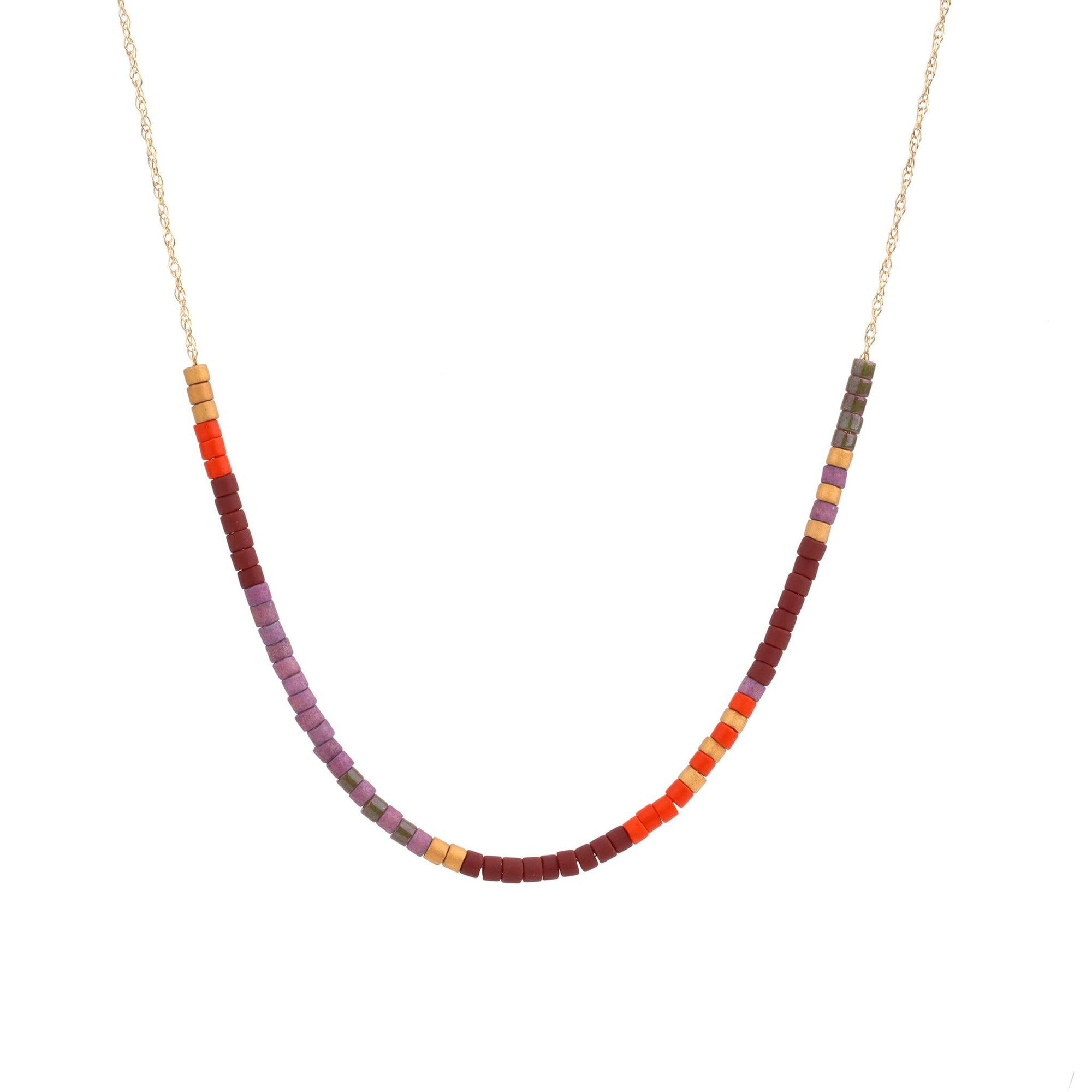 Microbead Necklace: Summer of Love Necklace