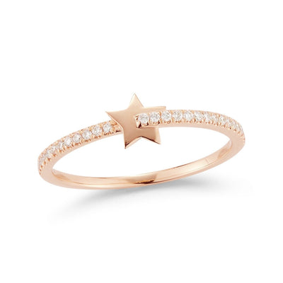 Dana Rebecca | Livi Gold Barred Star Ring