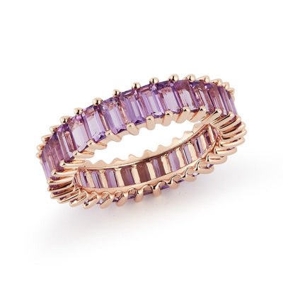 Vincents Fine Jewelry | Dana Rebecca | Kristyn Kylie Baguette Gemstone Ring