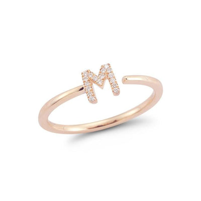 Vincents Fine Jewelry | Dana Rebecca | Single Initial Ring
