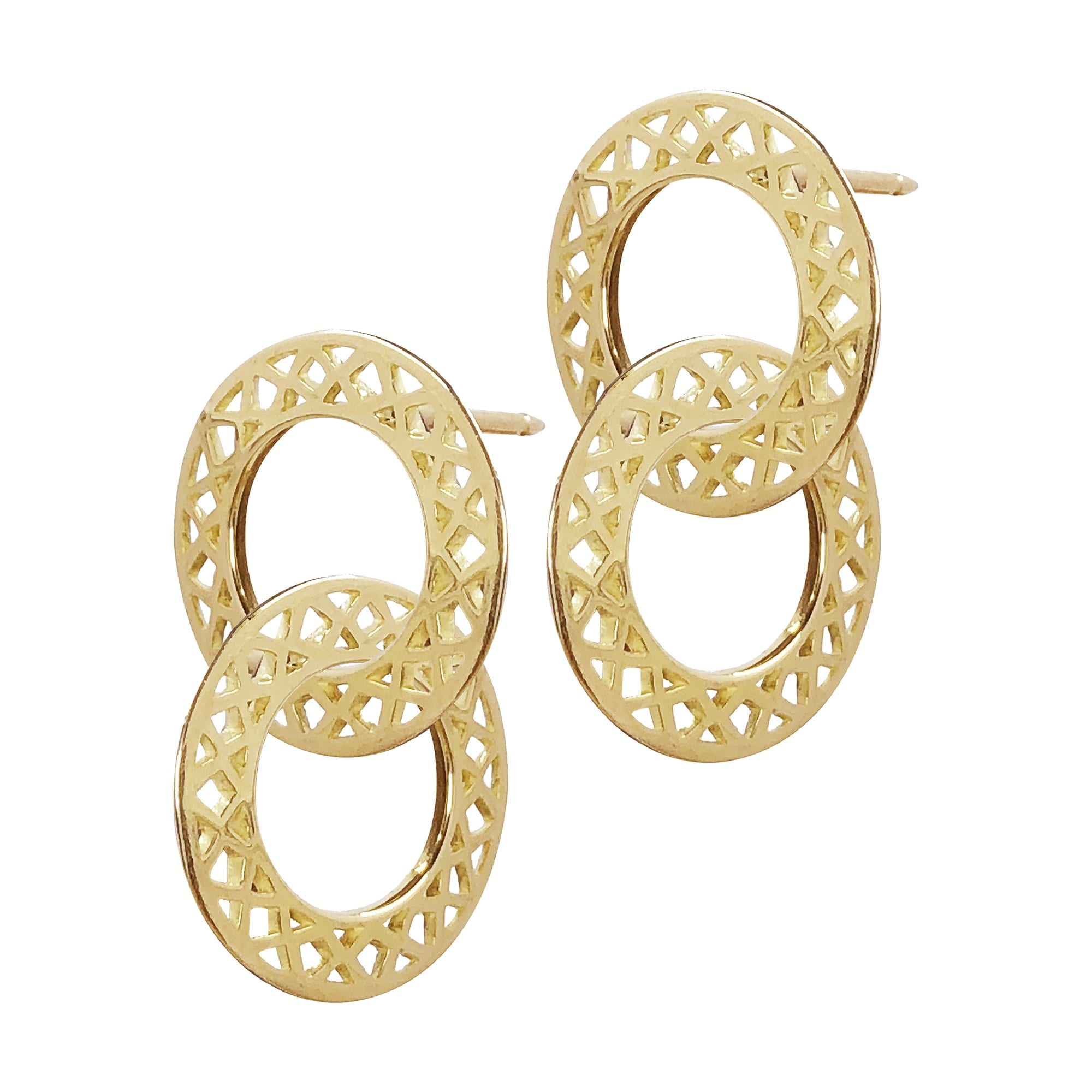Ray Griffiths | Crownwork Cirlce Studs