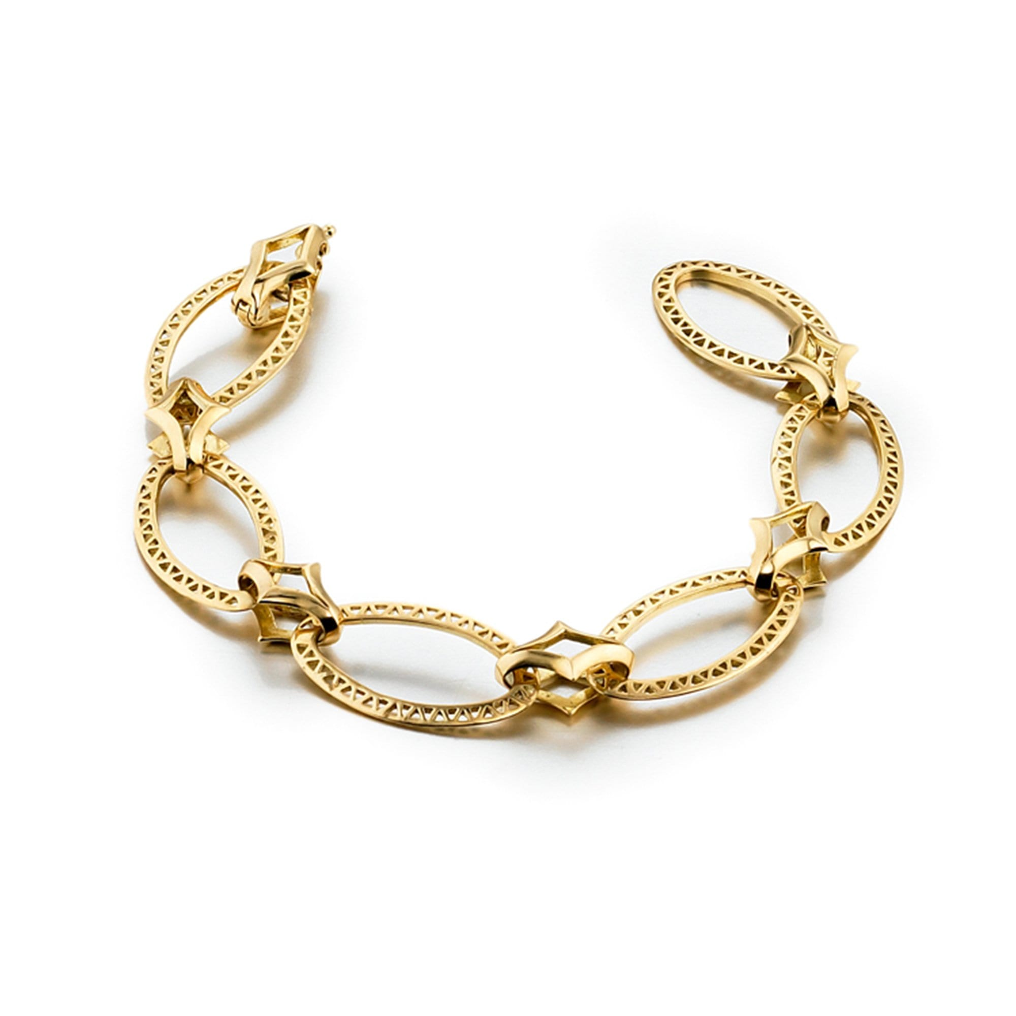 Ray Griffiths | Oval Link Crownwork Bracelet