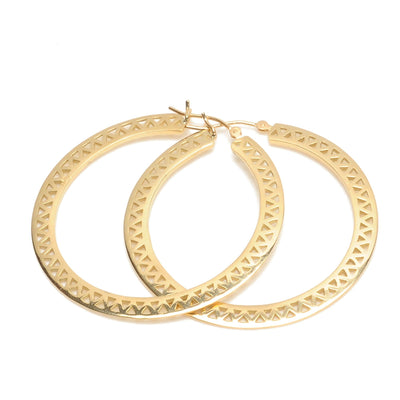 Vincents Fine Jewelry | Ray Griffiths | Medium Crownwork Hoops