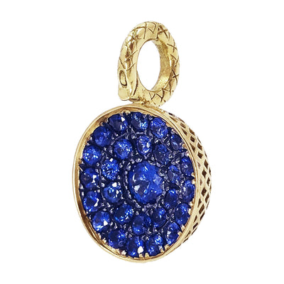 Vincents Fine Jewelry | Ray Griffiths | Sapphire Half Ball Pendent