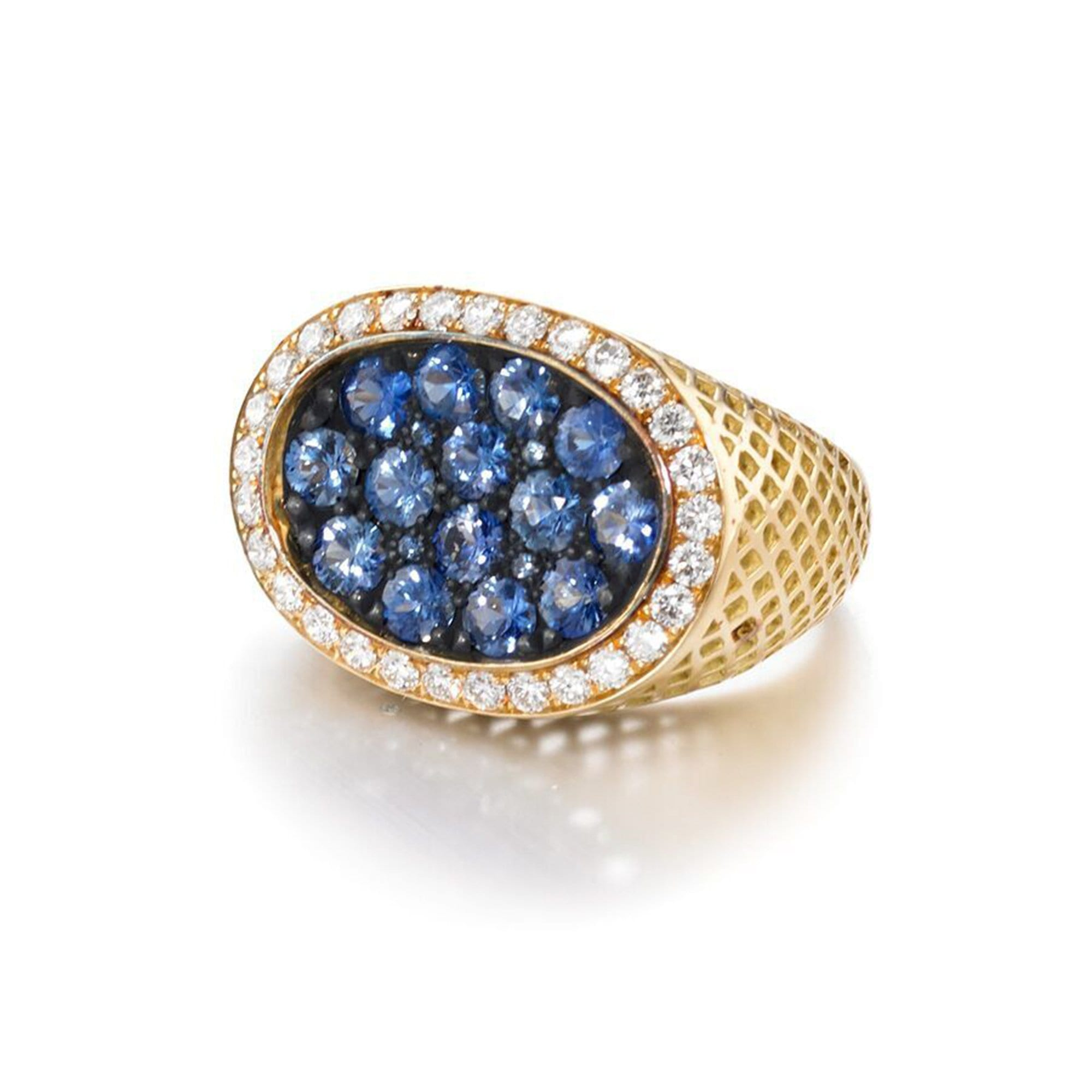 Vincents Fine Jewelry | Ray Griffiths | Sapphire Cocktail Ring