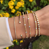 Vincents Fine Jewelry | Jane Kaye | Tassel Tennis Graduating Bracelet