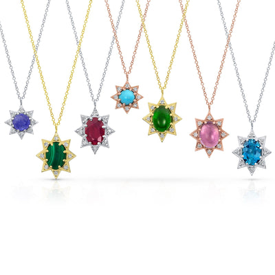 M. Spalten | Mini Starburst Necklace