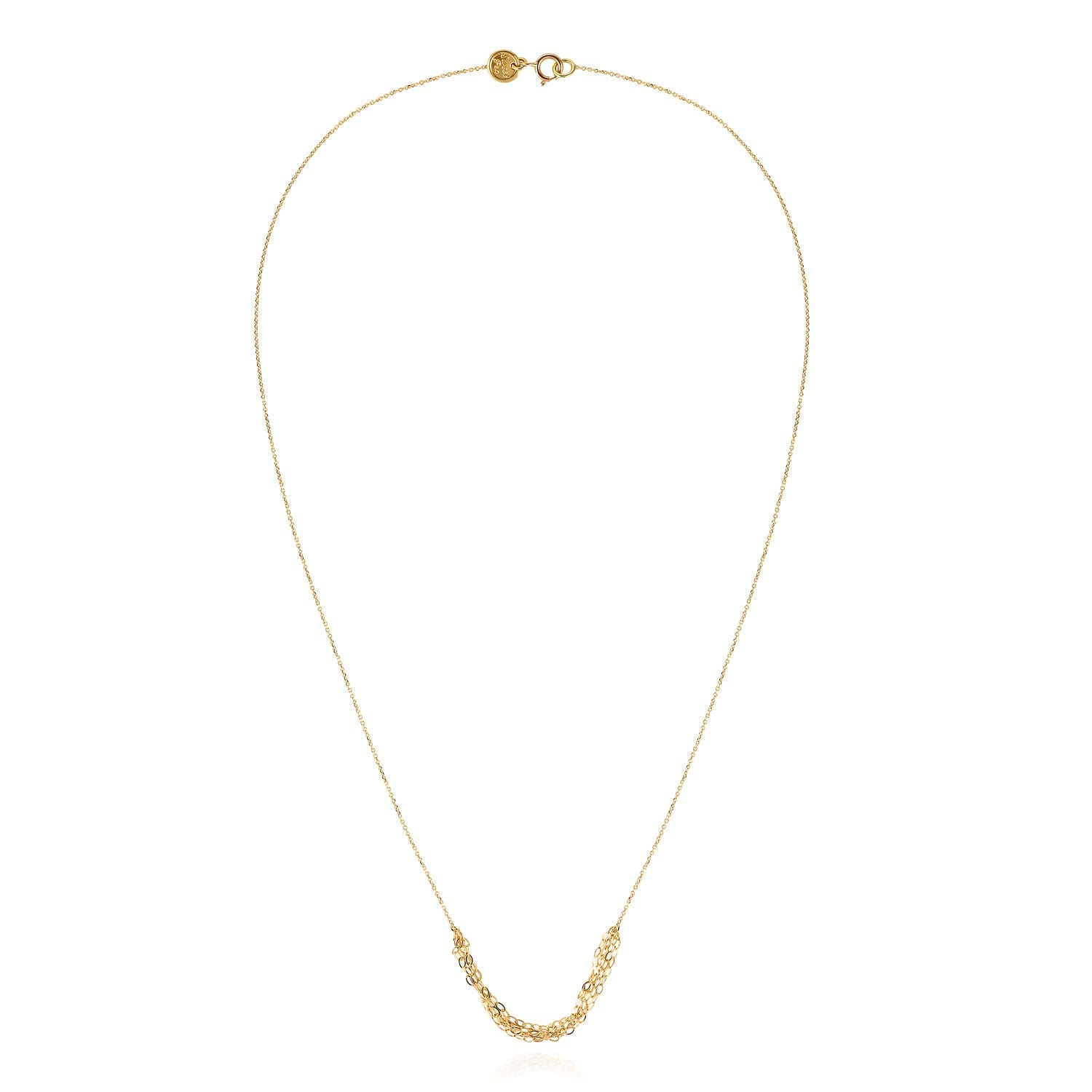 Vincents Fine Jewelry | Sweet Pea | Layered Tassel Chain Necklace