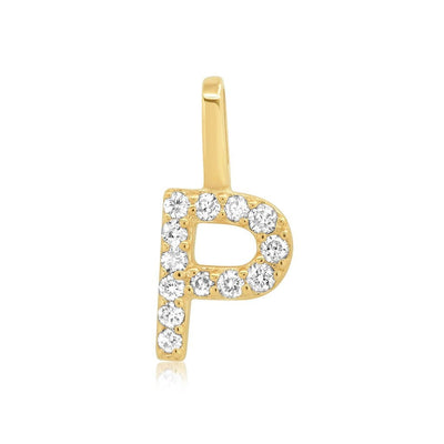 Vincents Fine Jewelry | TAI Jewelry | Diamond & Gold Letter Charm