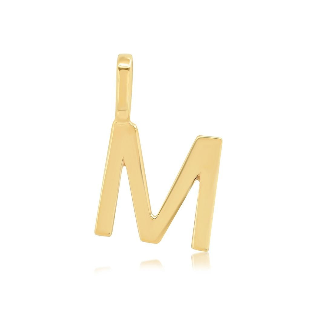 Vincents Fine Jewelry | TAI Jewelry | Gold Letter Charm