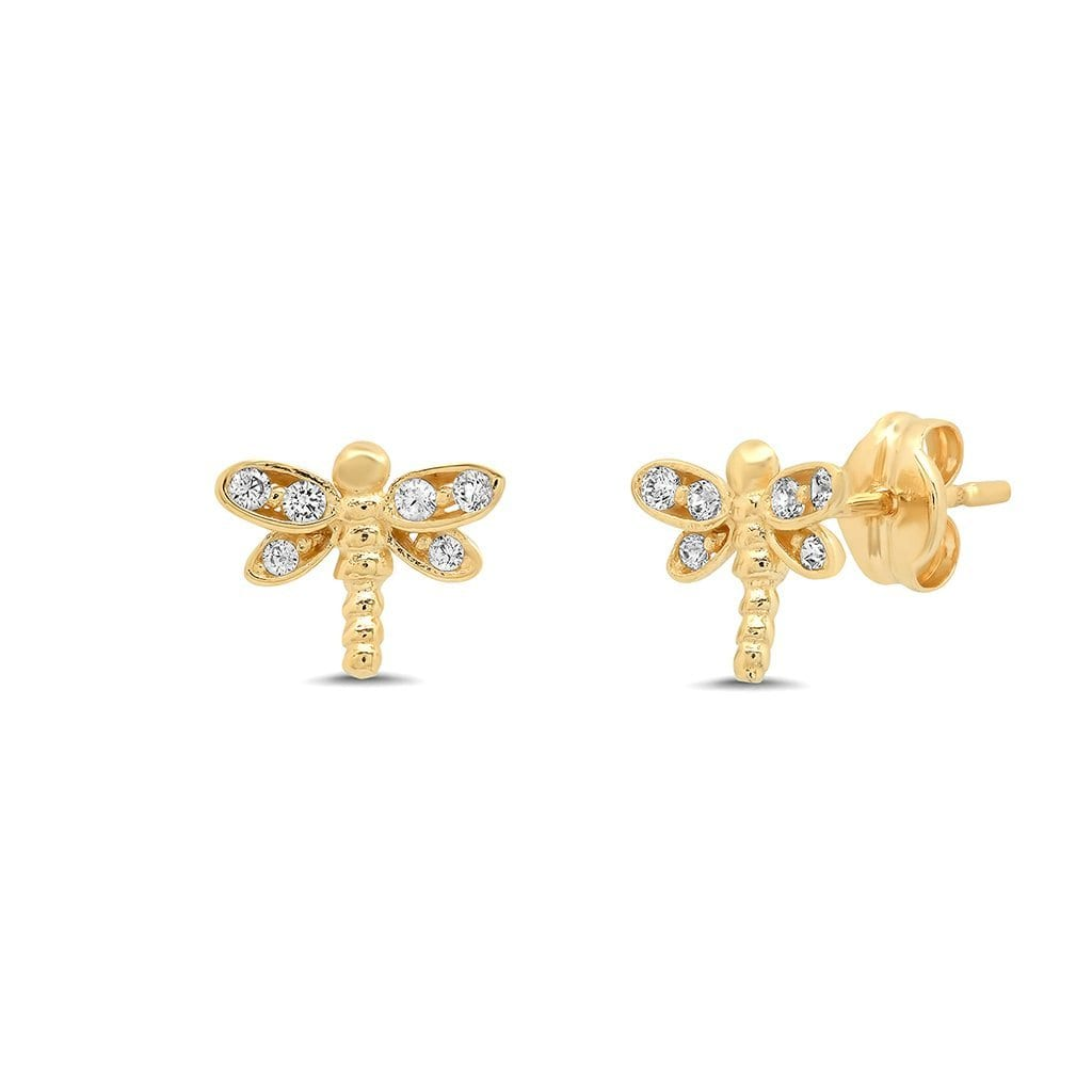 Vincents Fine Jewelry | TAI Jewelry | Dragonfly Studs