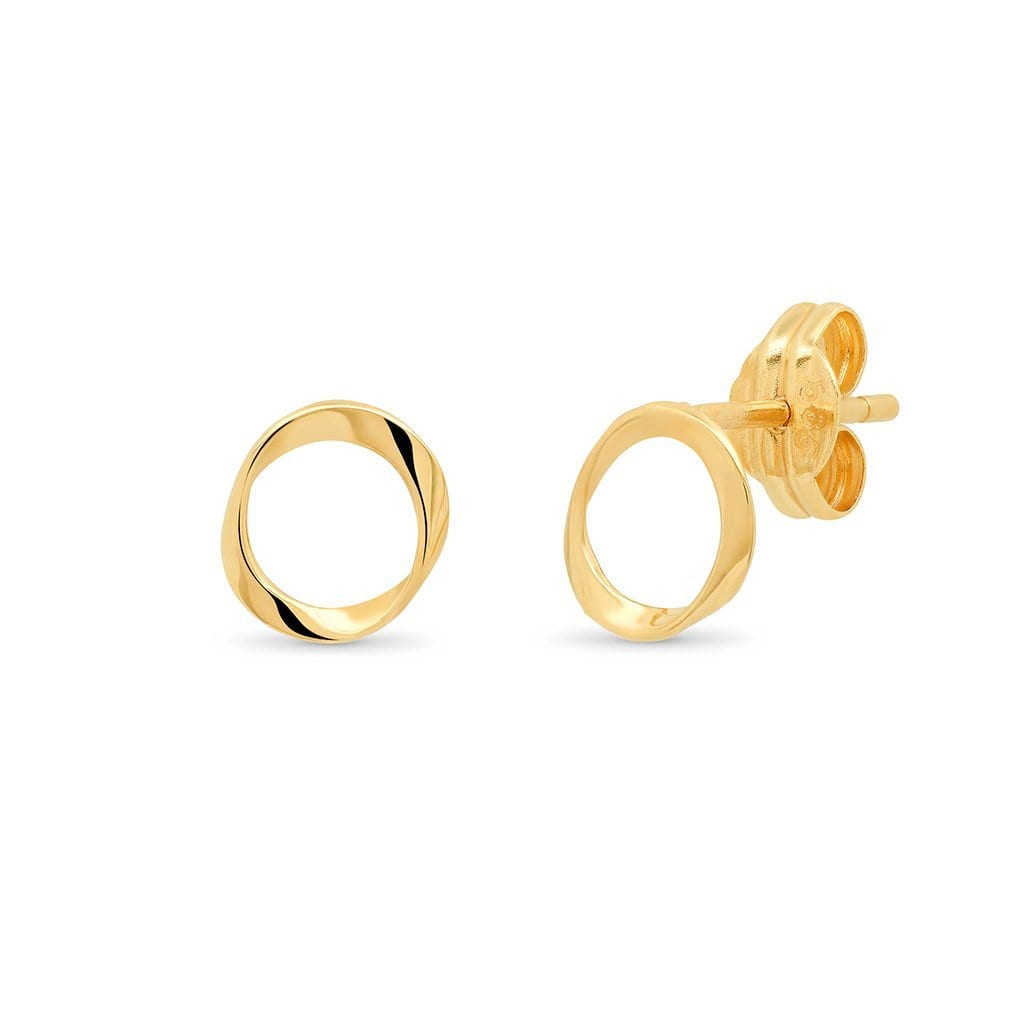 Vincents Fine Jewelry | TAI Jewelry | Natural Shape Studs