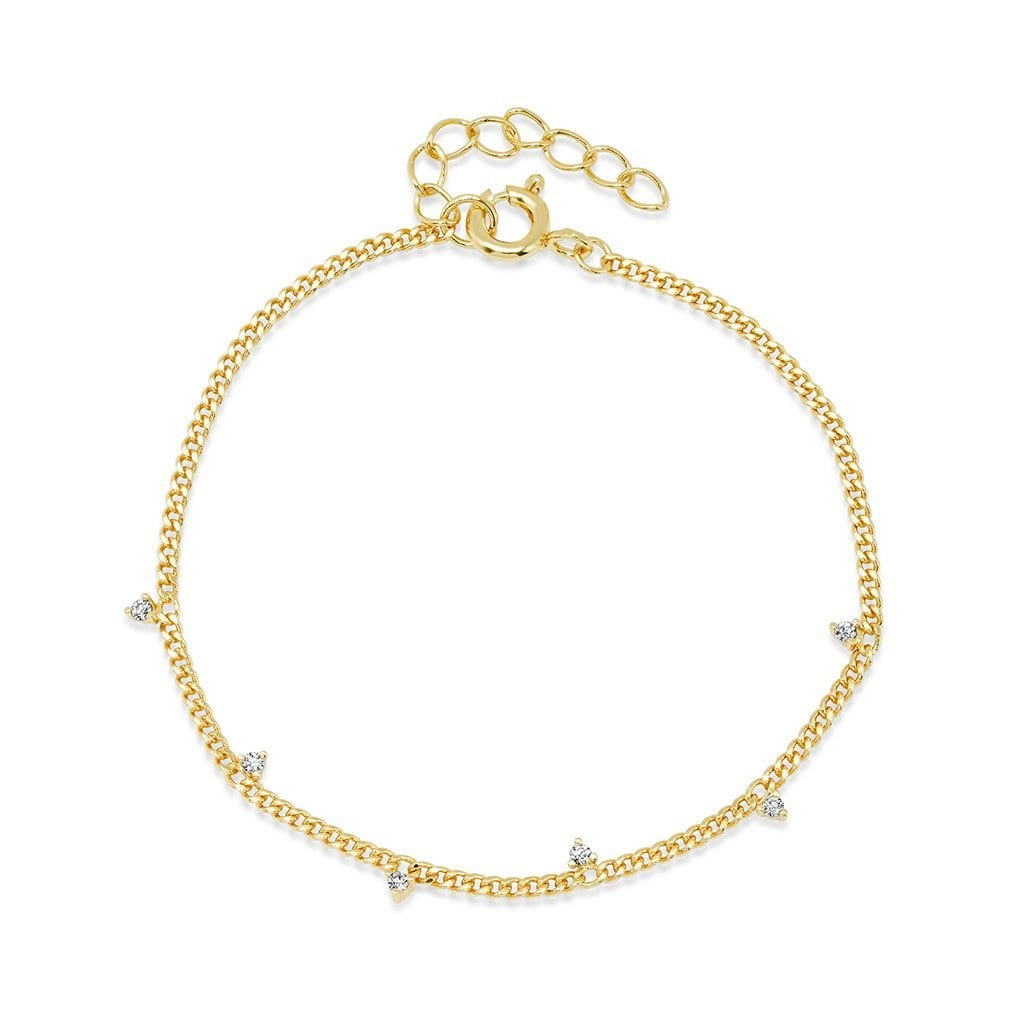 Vincents Fine Jewelry | TAI Jewelry | Brass & CZ bracelet