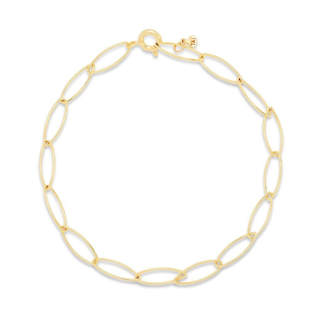 Vincents Fine Jewelry | TAI Jewelry | Gold vermeil chain bracelet