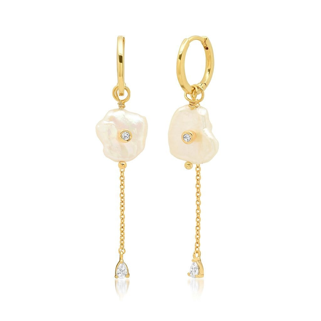 Vincents Fine Jewelry | TAI Jewelry | Pearl Trail Drop earrings