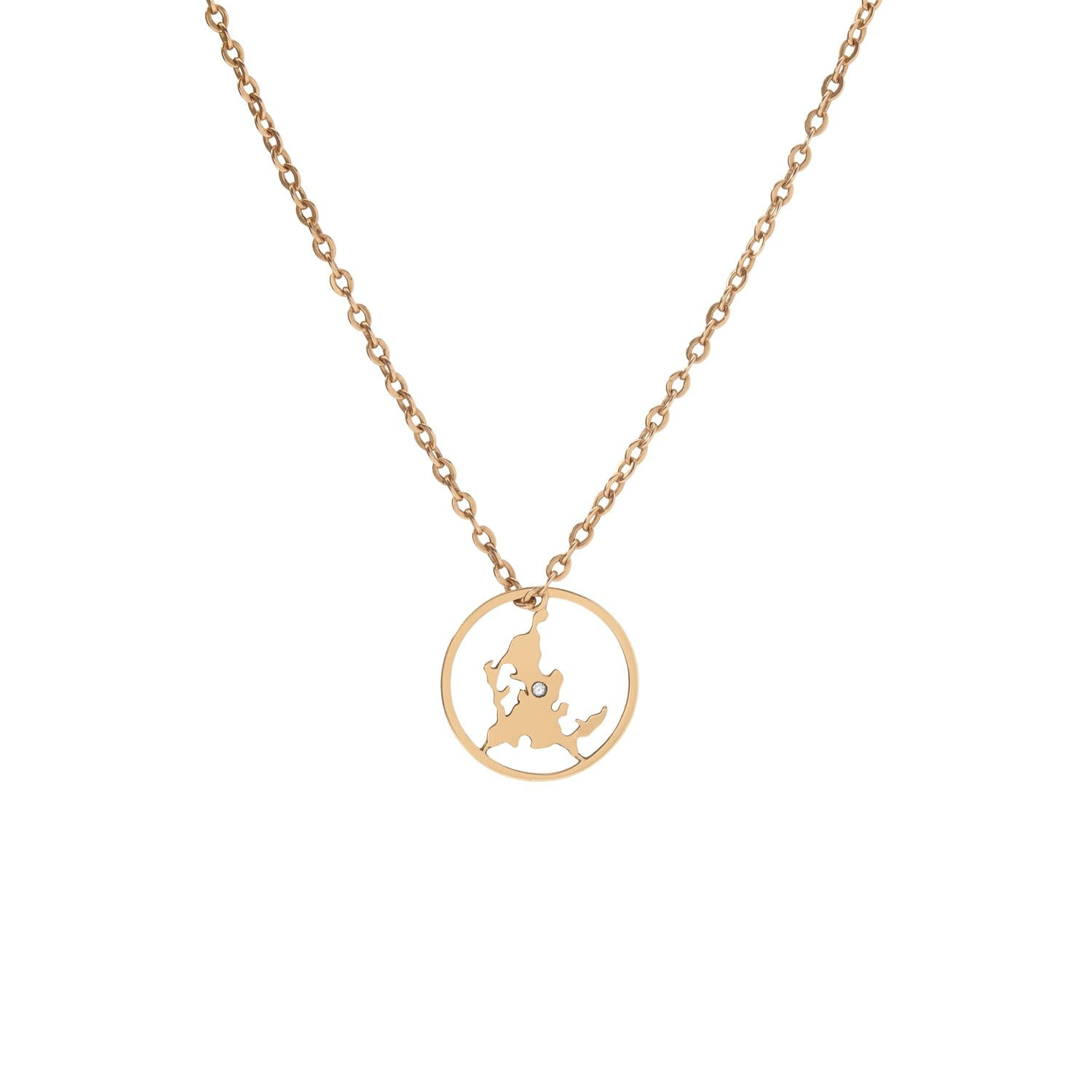 CD Charms | Shelter Island Chained Necklace | Catherine Demarchelier