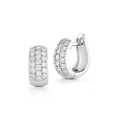 Vincents Fine Jewelry | Dana Rebecca Designs | DRD Diamond Huggie Earrings