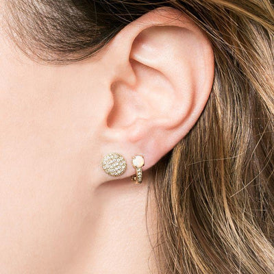 Dana Rebecca | Lauren Joy Medium Disc Studs