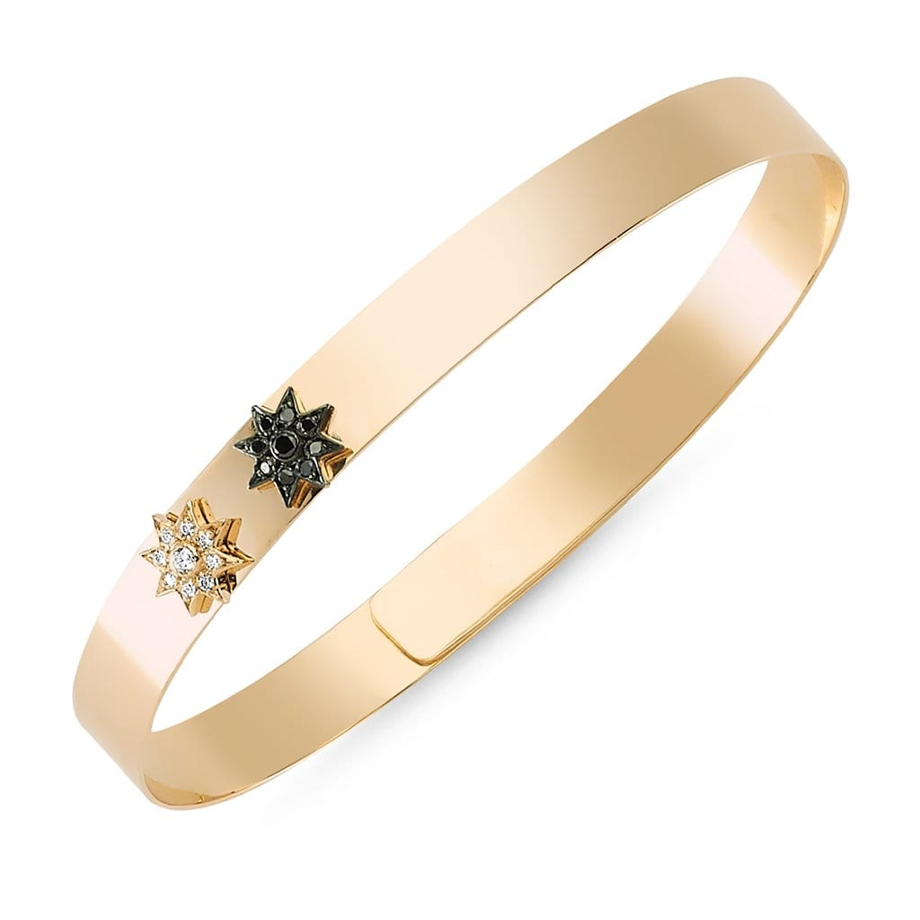Vincents Fine Jewelry | Own Your Story | Twin Star Bangle
