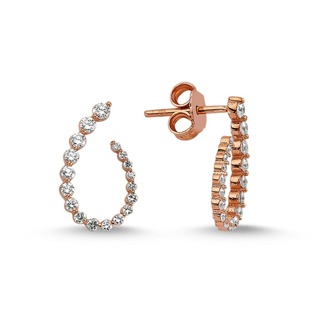 Vincents Fine Jewelry | Own Your Story | Diamond Curl Earrings