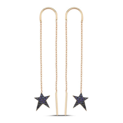 Vincents Fine Jewelry | Own Your Story | Sapphire Rockstar Earrings
