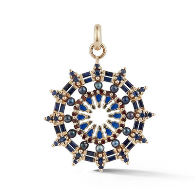 Vincents Fine Jewelry | Storrow Jewelry | Blue Sapphire & Gemstone Mix Charm