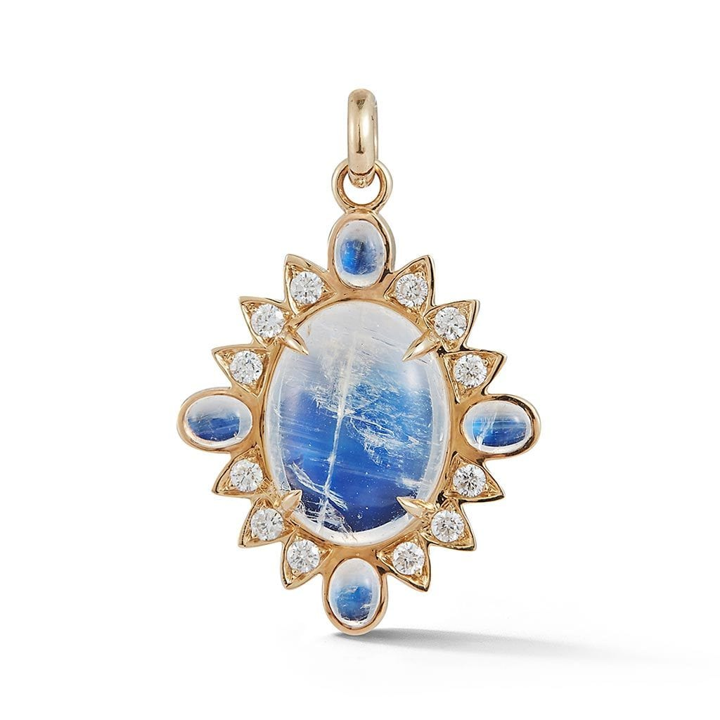 Vincents Fine Jewelry | Storrow Jewelry | Blue Moonstone Charm
