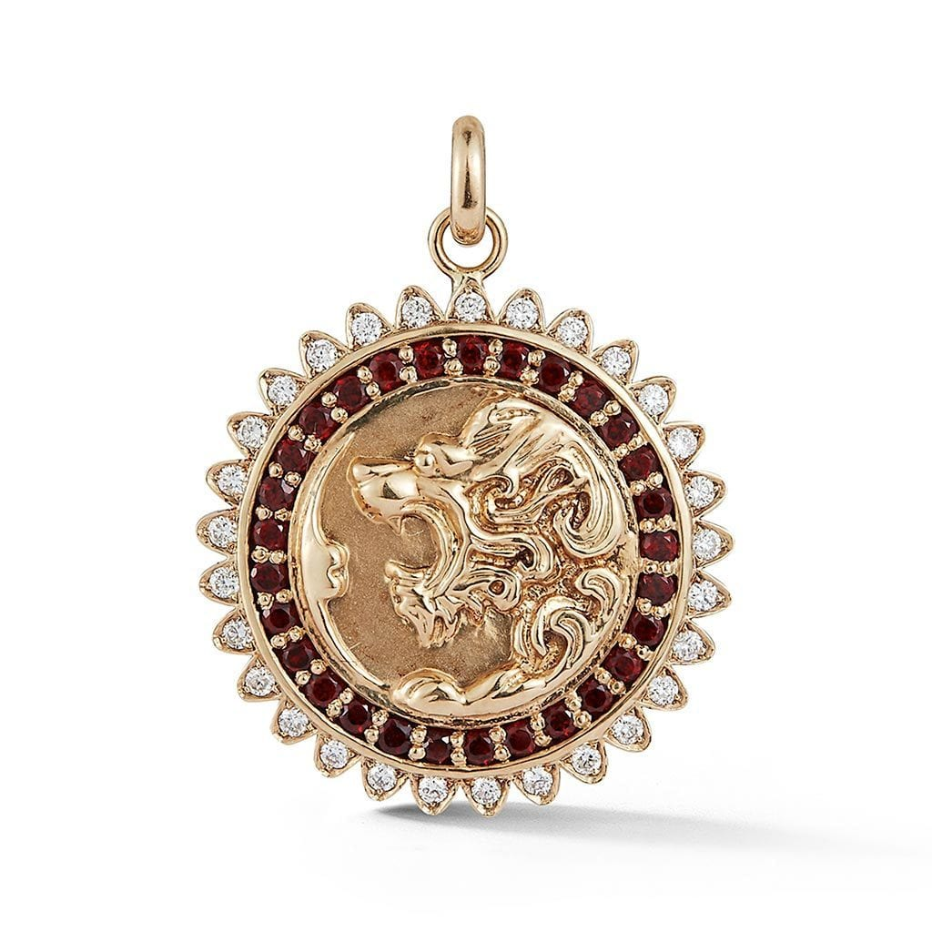 Vincents Fine Jewelry | Storrow Jewelry | Victorian Lion Medallion