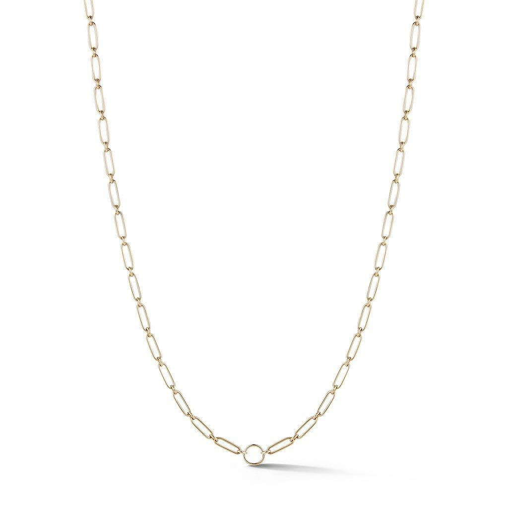 Chain Necklace with opening: 18""