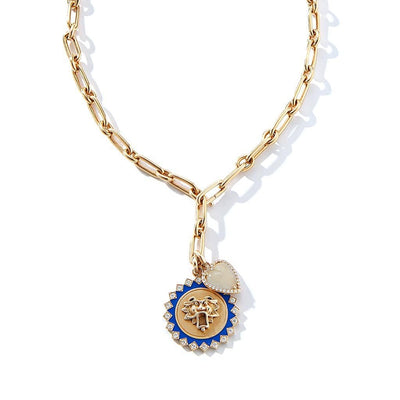 Vincents Fine Jewelry | Storrow Jewelry | Heart Moonstone & Diamond Charm