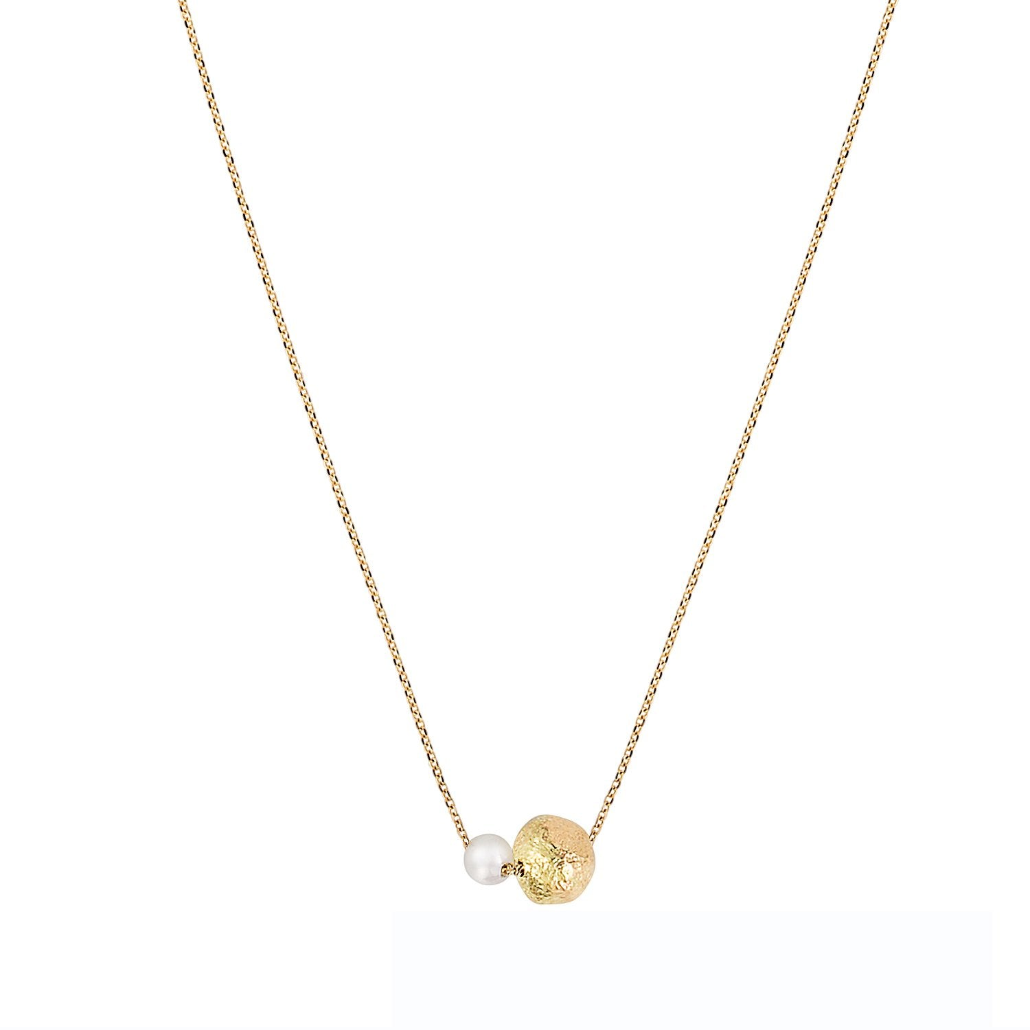 Vincents Fine Jewelry | Sweet Pea | Short Chain With Pearls