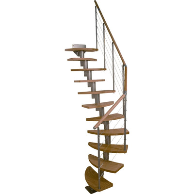 "Dolle Rome 25-1/2"" 11 Tread Modular Staircase Kit"